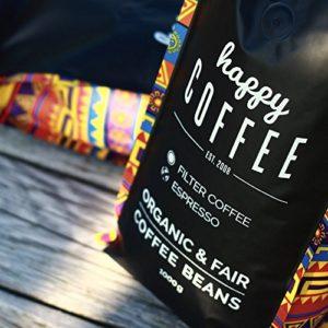 Happy Coffee Fairtrade Kaffeebohnen