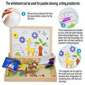 Lernspielzeug Holzpuzzle