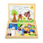 Lernspielzeug Puzzlebox mit Magnetmotiven