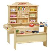Kinder-Kaufladen aus Holz