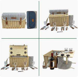 vielseitiger Picknickkorb