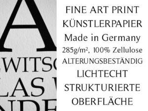 Fine Art Print Künstlerpapier