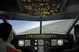 Einmal wie ein Pilot sich fühlen