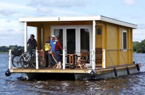 Mit dem Hausboot rumfahren