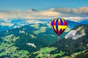 Verschenke eine Ballonfahrt