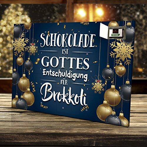 Sprüche Für Weihnachtskalender.Marzipan Adventskalender Mit Witzigem Spruch