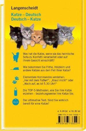 Langenscheidt Katzen Wörterbuch