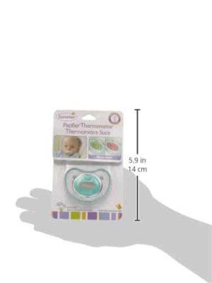 Schnuller-Thermometer Größe und Verpackung