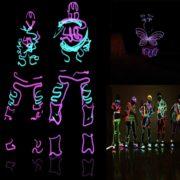 Verformbare Neonlicht