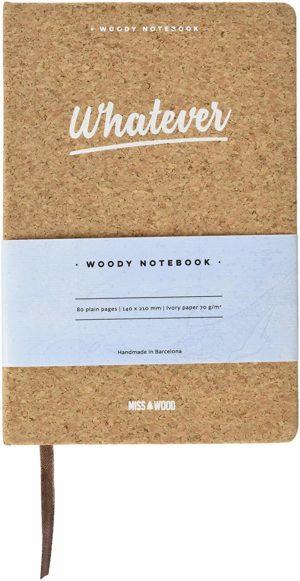 persönliche Kork-Notizbuch