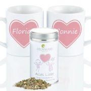 Liebes-Tee-Set