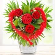 romantischer Blumenstrauß