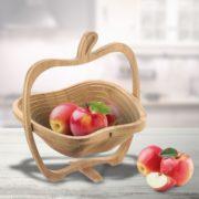Faltkörbchen Apfel