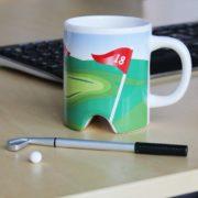 Tasse für Golfer