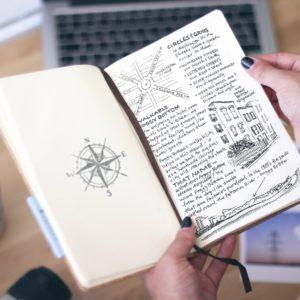 Das originelle Buch aus Kork
