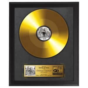 goldene Schallplatte 50 Jahre Ehe