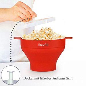 Popcorn Popper Mikrowellen Silikon