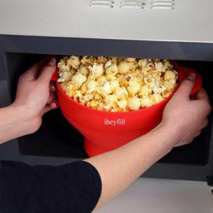 rein in die Mikrowelle und Popcorn geniessen