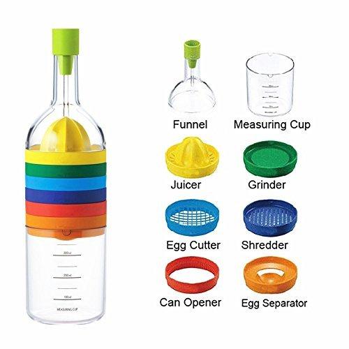 Flasche Mit Kuchenutensilien Multifunktionaler Kuchenhelfer
