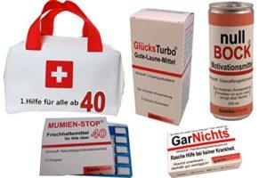 First Aid Box zum 40er