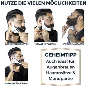 Den Bart perfekt pflegen