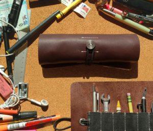 Ledr Werkzeugrolle - handgefertigte Lederrolle für Unterwegs