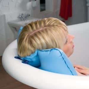Badewannenkissen zur Entspannung