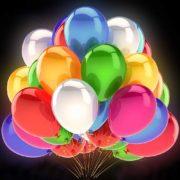 Luftballons mit LED