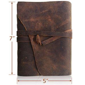 Notizbuch aus feinstem Leder