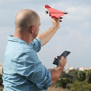 Smartphone steuerbarer Flieger