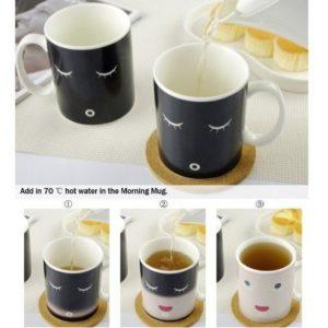 wärmeempfindliche Tasse