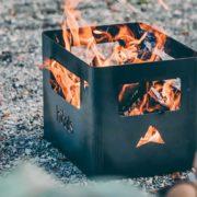 Getränkekiste-Feuerkorb