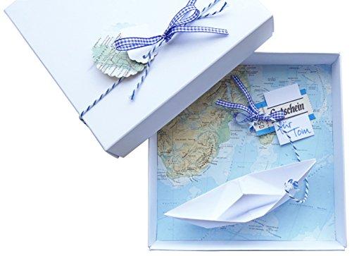 Geldgeschenk Reisekasse Geldscheine Stilvoll Und Originell Verpackt