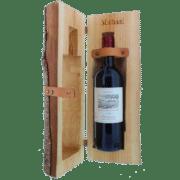 Rustikale Weinkiste mit Gravur