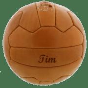 Retro-Fußball mit Gravur