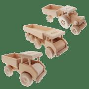 Holzauto mit Gravur