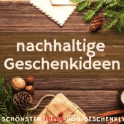 nachhaltige Geschenke Weihnachten