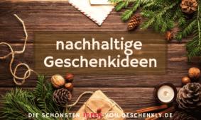 Nachhaltige Geschenke für Weihnachten