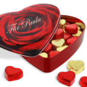 Pralinen-Herzbox mit Gravur