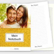 selbstgestaltete Notizbuch