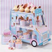 Eisverkäuferwagen für Partys