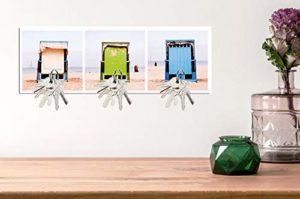Magnet Schlüsselbrett mit Fotografie