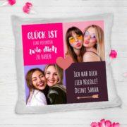 Personalisiertes Fotokissen für die beste Freundin