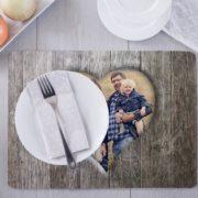 Foto-Tischset