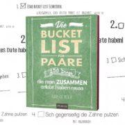Bucket-Liste für Pärchen