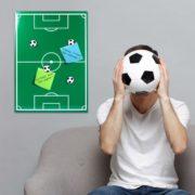 Magnet-Memoboard für Fußballer