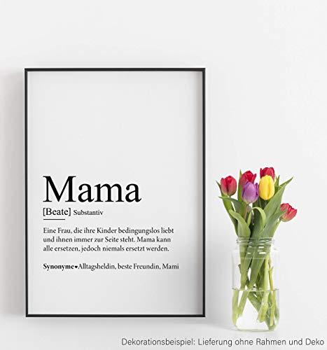 Kunstdruck Für Mama