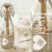 Flasche mit eigener Gravur