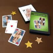 Individuelle Canasta- oder Rommé-Karten mit Ihren Fotos