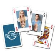 Individuelle Kartenspiel-Klassiker mit Ihren Fotos (Poker, Skat ...)!